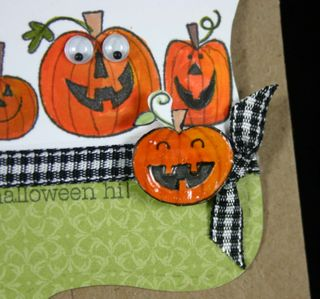 Bag topper pumpkins detail- dana newsom