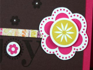 Enjoy Card Detail - by Dana Newsom