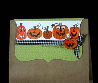 Bag topper pumpkins- dana newsom