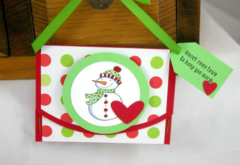 2009 snowman giftcard holder 2- dana newsom