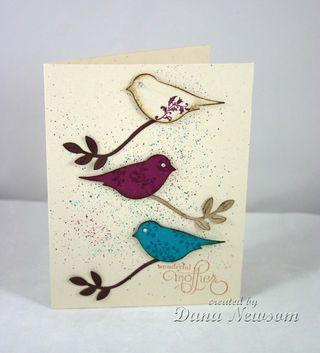 Wonderful mother bird card - Dana Newsom