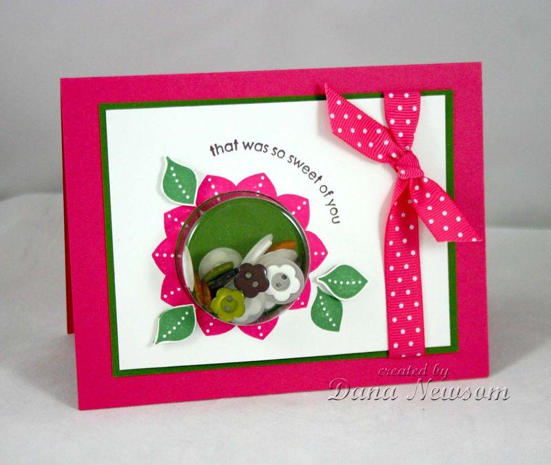 Flower thast was so sweet card- Dana Newsom