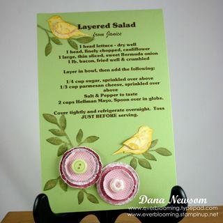 Lyered Salad recipe - Dana Newsom