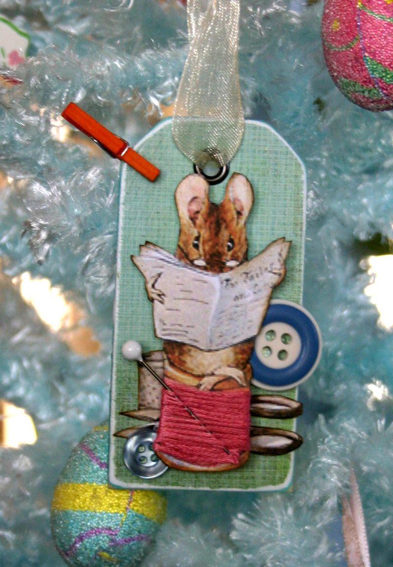 Mouse ornament 4 - dana newsom