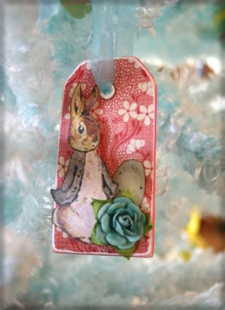 Rabbit ornament3 - dana newsom