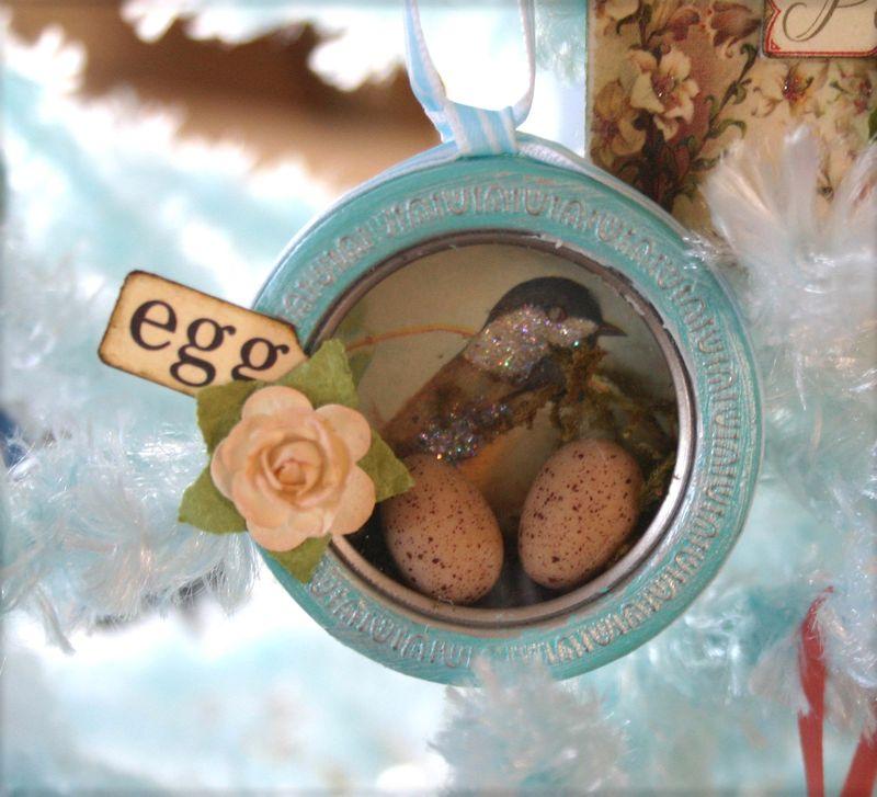 Bird ornament - dana newsom