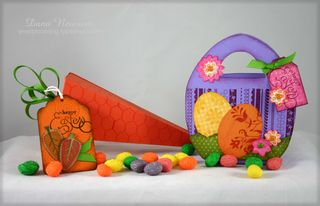 Easter carrot & egg bag- dana newsom