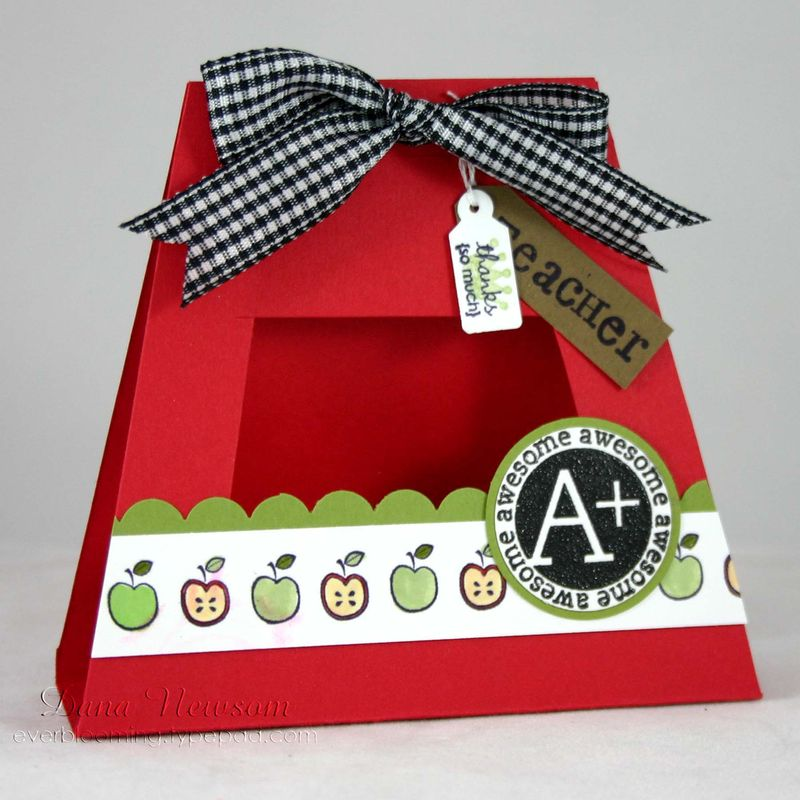 A+teacher card - dana newsom