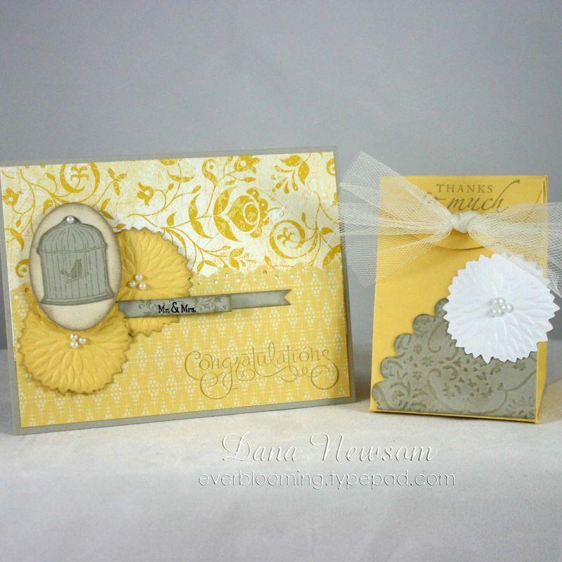 Wedding card and gift - dana newsom