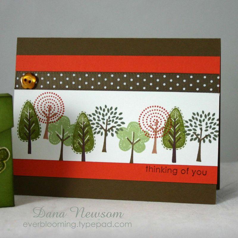 Tiny trees card - dana newsom