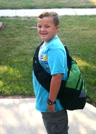 2010 first day of 3rd grade 3