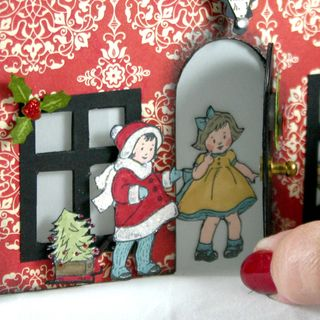 Joy house peakaboo door- dana newsom