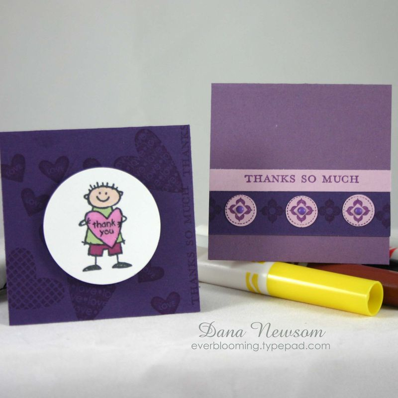 Thank you purple set - dana newsom