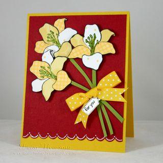 Daffadil card - dana newsom