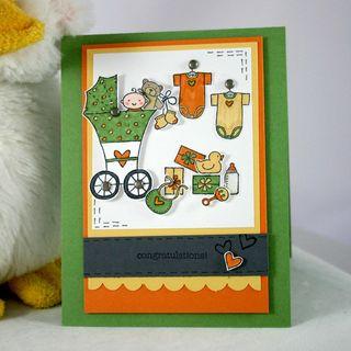 CONGRATS BABY CARD 3- DANA NEWSOM