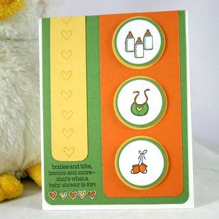 BOTTLES & BIBS CARD - DANA NEWSOM
