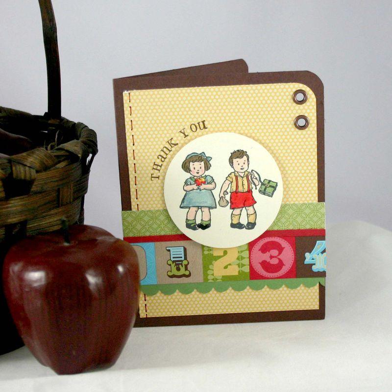 Thankyou teacher card - dana newsom
