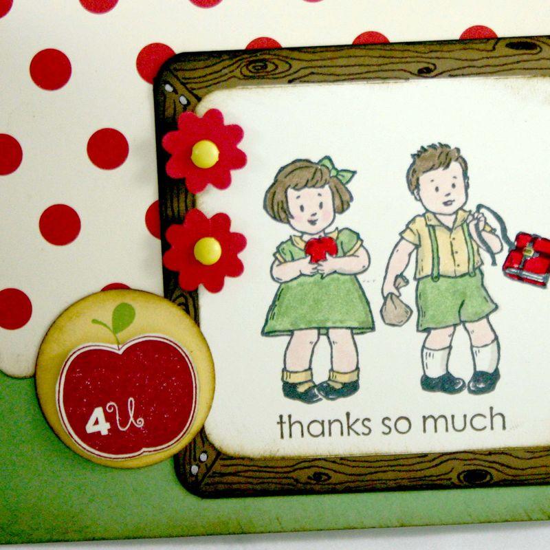 Thank you teacher card 3 detail- dana newsom