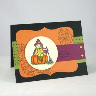 Wicked spiters card - dana newsom