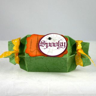 Spooky spider candy wrapped - dana newsom