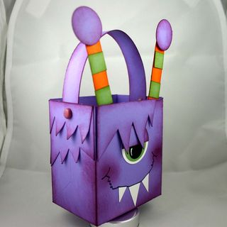 Monster bag side - dana newsom