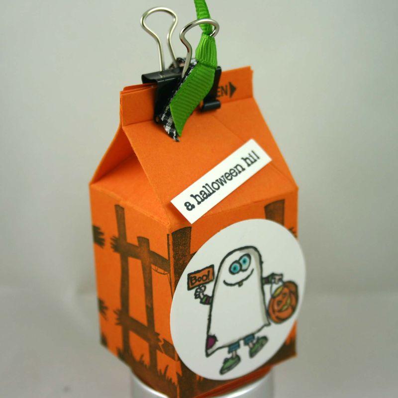 Ghost milk carton - dana newsom