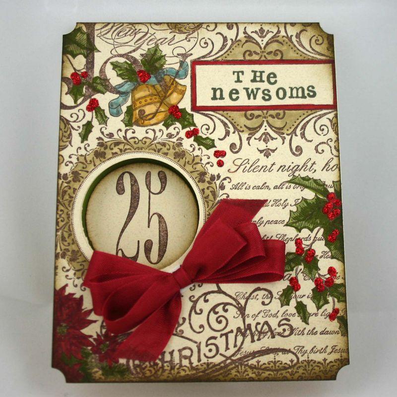 The newsoms christmas card 1 - dana newsom