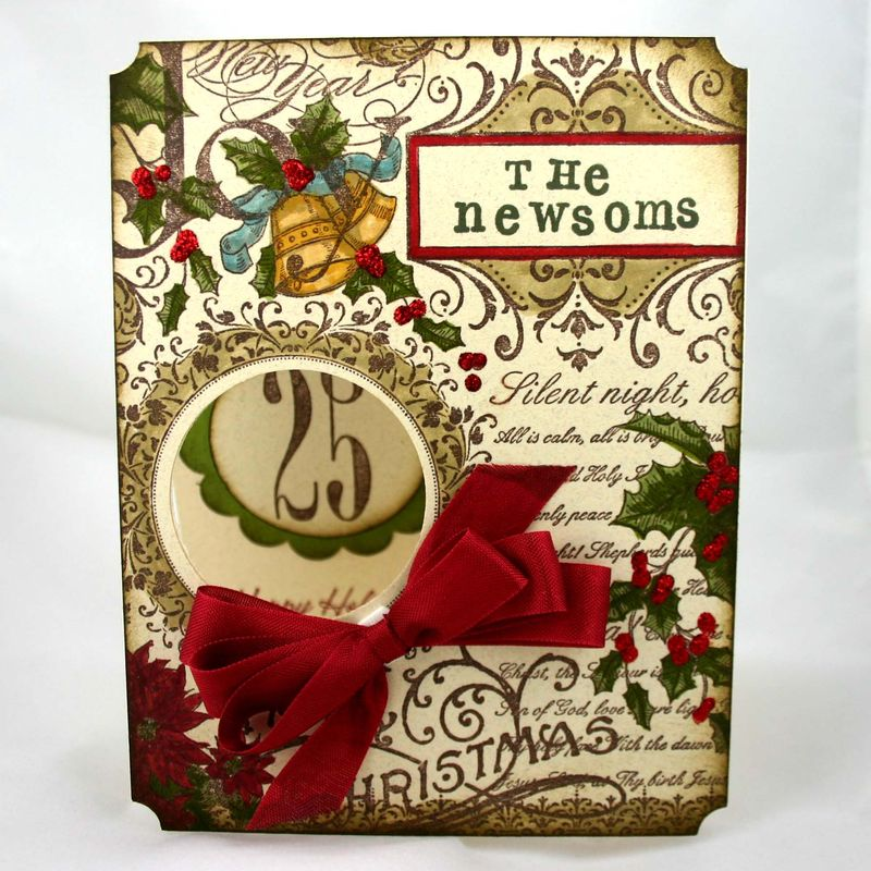 The newsoms christmas card 2 - dana newsom