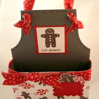 Gingerbread apron pocket - dana newsom