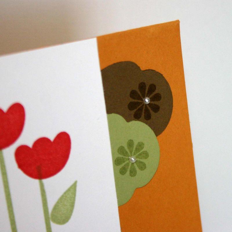 Tullip garden card detail- dana newsom