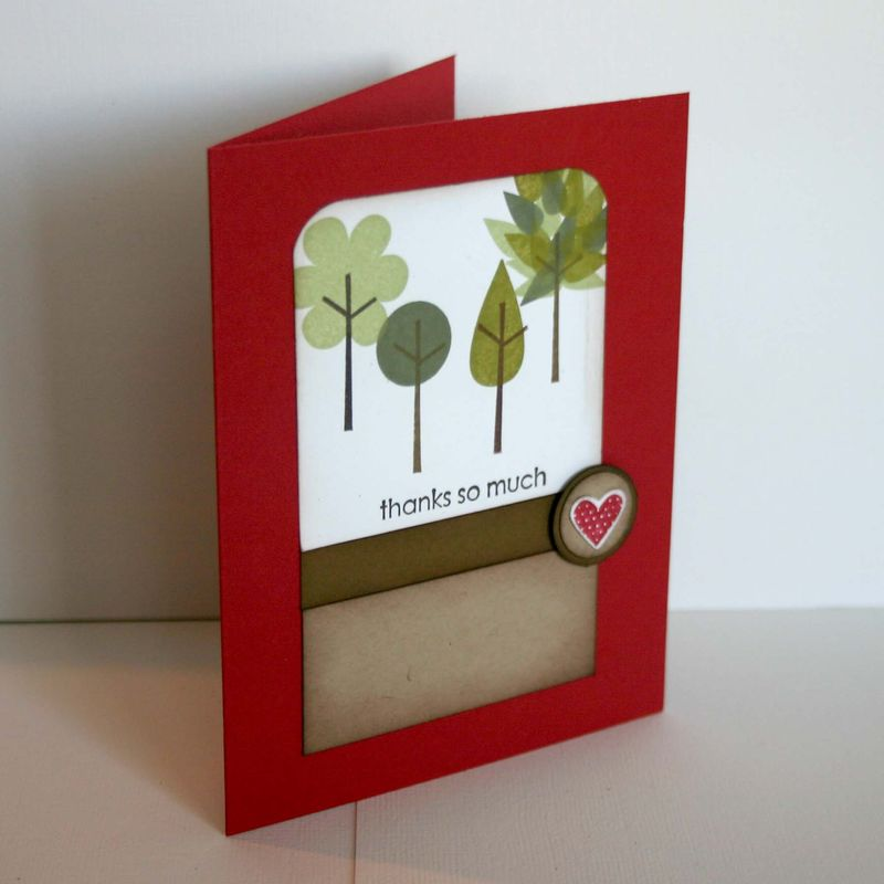 Thanks so much build a tree card - dana newsom