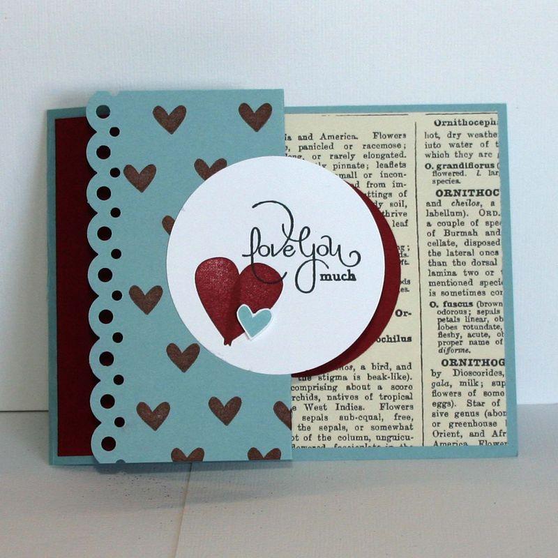 Love much valentine card- dana newsom