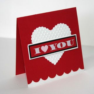 I love you card - dana newsom
