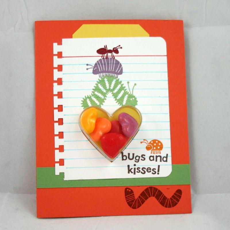 Bugs and Kisses card - dana newsom