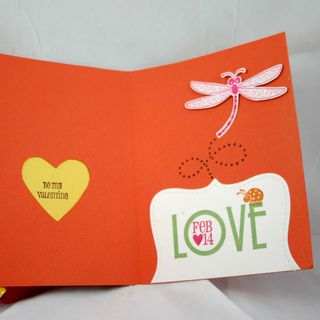 Bugs and Kisses card inside- dana newsom