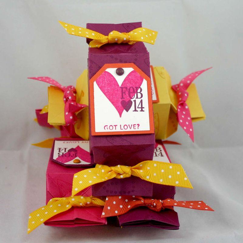Got Love candy wrappers tag closed - dana newsom