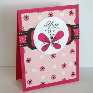 To You Butterfly Card 4- dana newsom