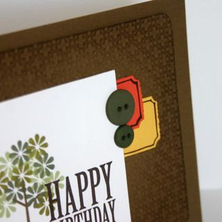 Happy Birthday Tree card detail 2- dana newsom