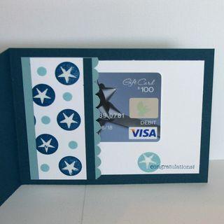 A Little Something Baby card inside - dana newsom