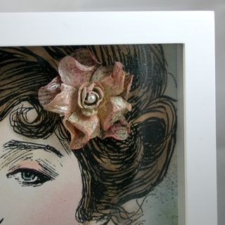 Beautiful lady detail 2- dana newsom