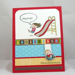 Proud of you card 1- dana newsom