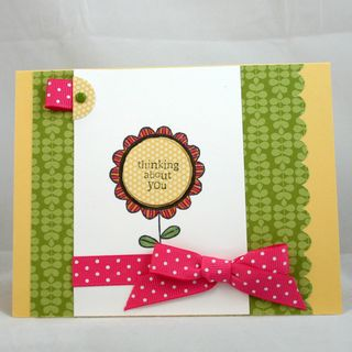 Thinking of you flower card 2 - dana newsom