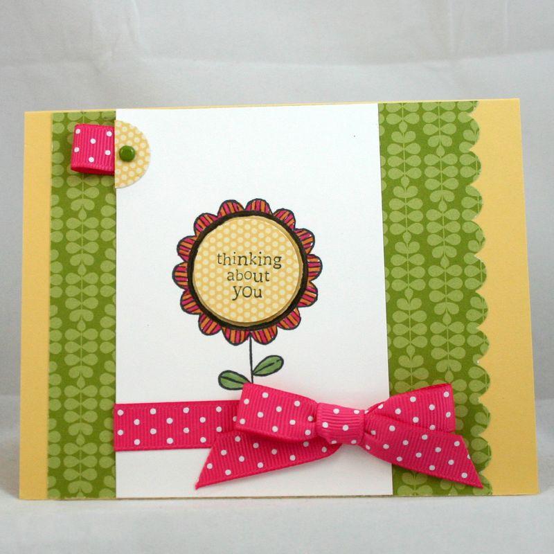 Thinking of you flower card 2 - dana newsom
