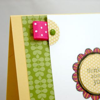 Thinking of you flower card detail 2 - dana newsom