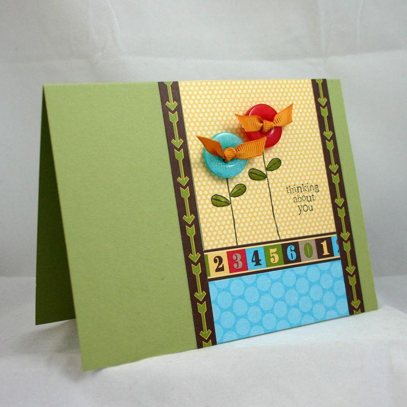 Lollip pop flower card 2 - dana newsom