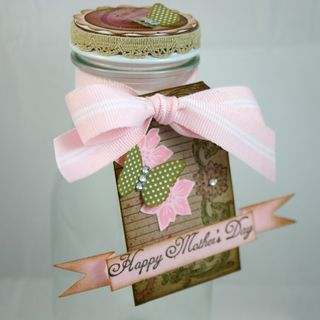 Mothersday jar  close up - dana newsom