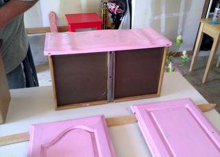 Pink hutch priming 2