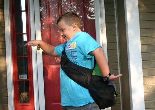 2010 first day of 3rd grade crazy guy5