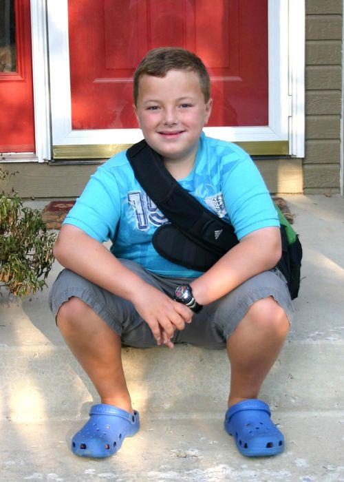 2010 first day of 3rd grade