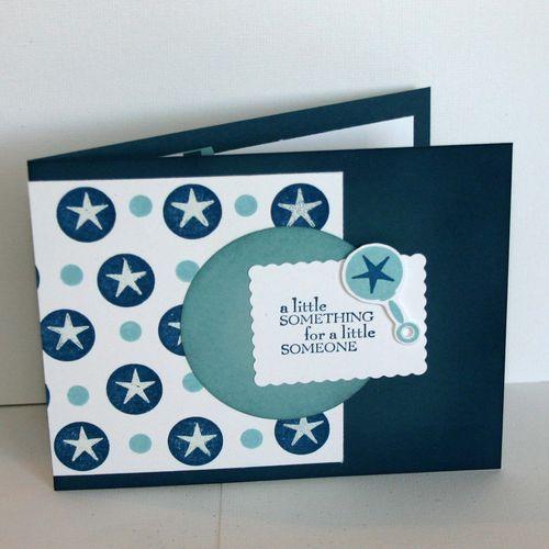 A Little Something Baby card - dana newsom